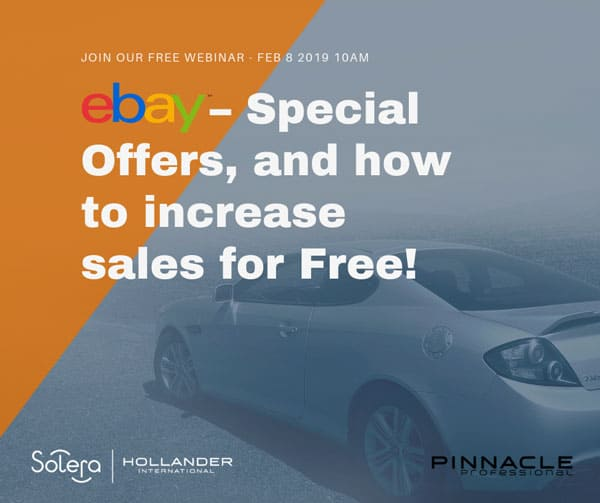 eBay – How to increase part sales for free
